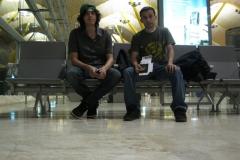 Esperando la salida a España